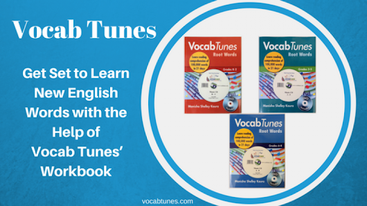 Get Set to Learn New English Words with the Help of Vocab Tunes' Workbook | FeedsFloor