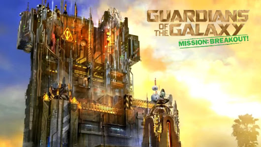Guardians of the Galaxy sostituirà Twilight Zone Tower of Terror | Disney's California Adventure