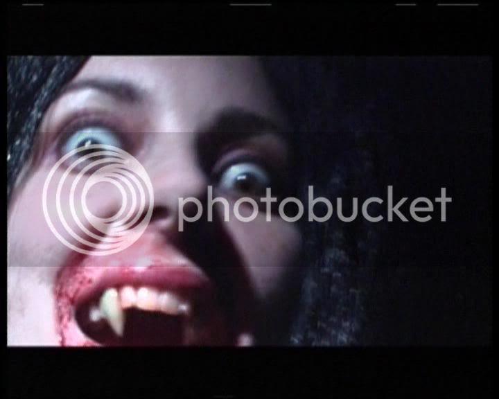 close up vampire