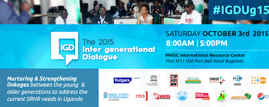 #IGDUg15 - Let the conversations on Sexual Reproductive Health and Rights begin!