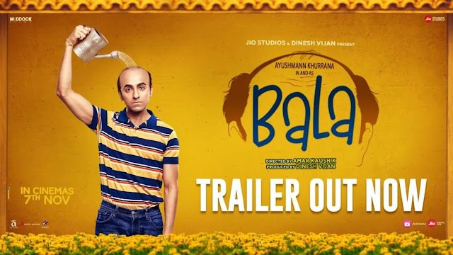 Bala (2019 film) Cast  Reviews Full Information available