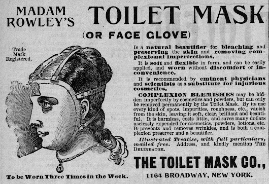 The Origin and History of Cosmetic Face Masks