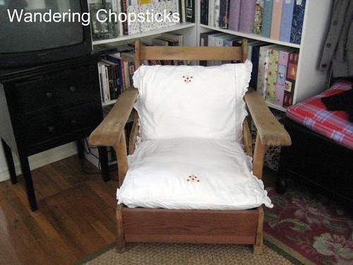Before and After Wooden Arm Chair 7