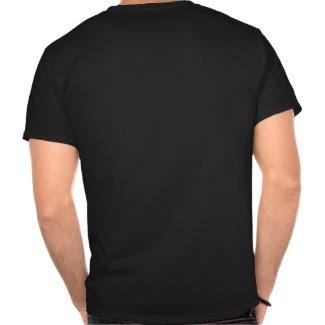 Genghis Khan / Mongol Black & White Symbol Shirt