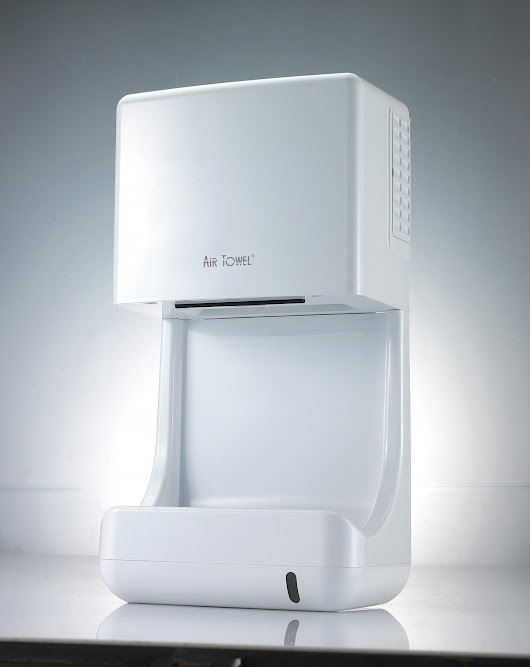 Get Plugged In With Advanced Air Technology - The Air Towel Hand Dryer