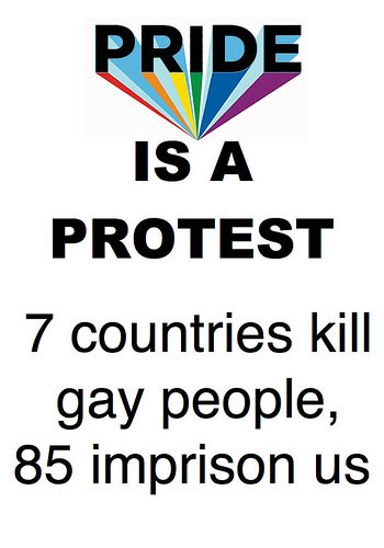 Pride is a Protest