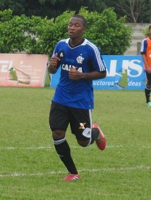 Samir treino Flamengo Thales Soares (Foto: Thales Soares)