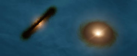 ALMA Finds Double Star with Weird and Wild Planet-forming Discs