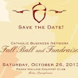 Catholic Business Network's FALL BALL & Fundraiser