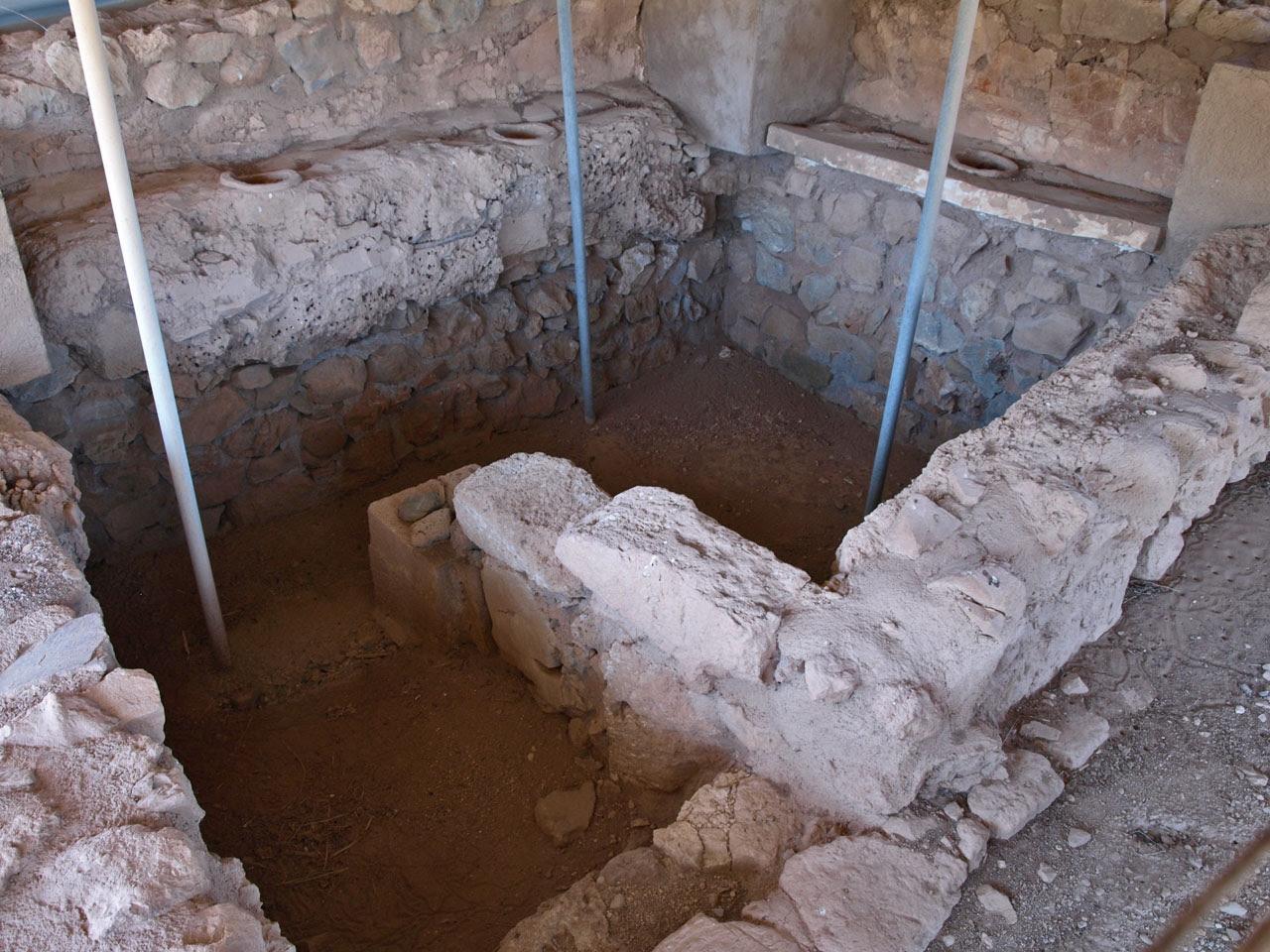 The Minoan Palace Of Zakros