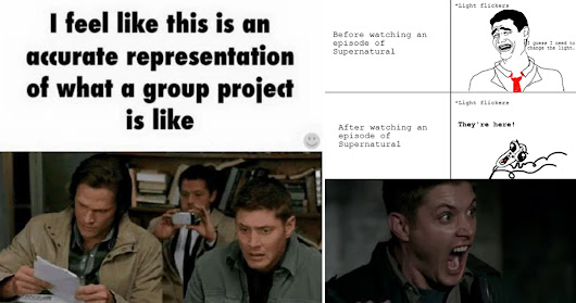 These 15 'Supernatural' Memes Will Have You Rolling On The Floor With Laughter