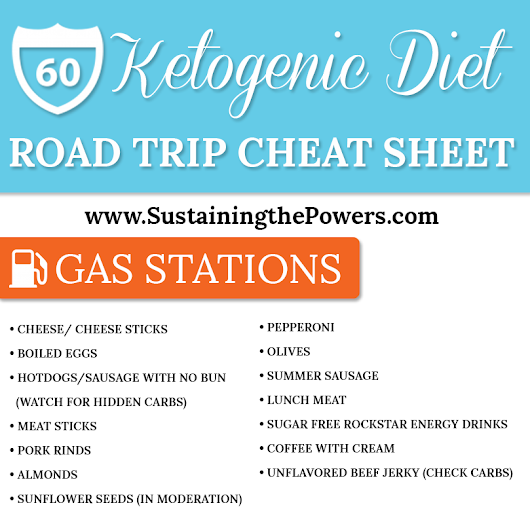 The Best Keto Road Trip Foods - Sustaining the Powers