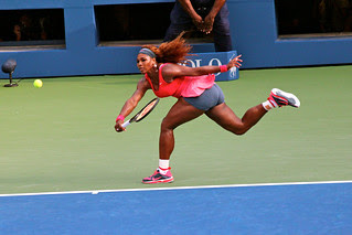 Serena Williams at the US Open 2013