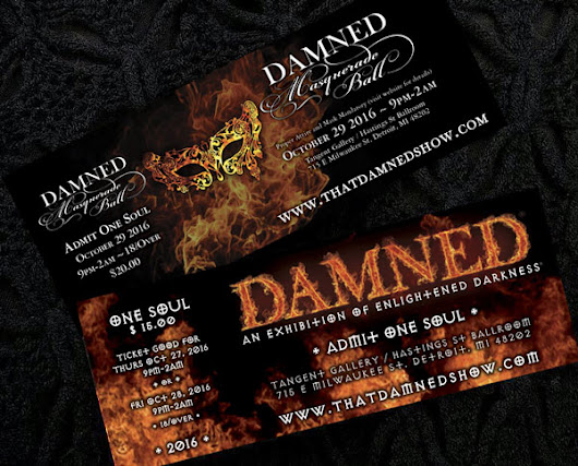 Tickets | DAMNED Exhibition of Enlightened Darkness