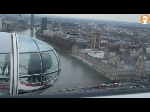 WEED: Rapper HOTBOXES famous LONDON EYE for 4/20, who will do this to the Capital Wheel?? | Toby Knapp | HOT 99.5