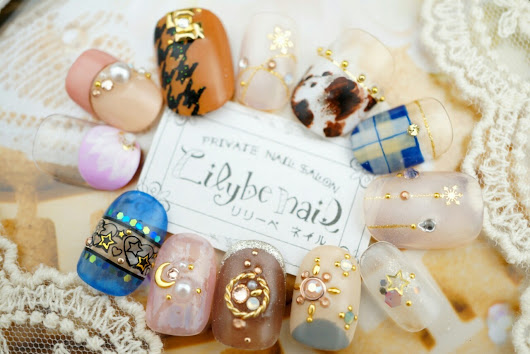 Lilybe nail(リリーベネイル)Art collection — 《Lilybe nail 新作ネイル autumn collection vol.4》...