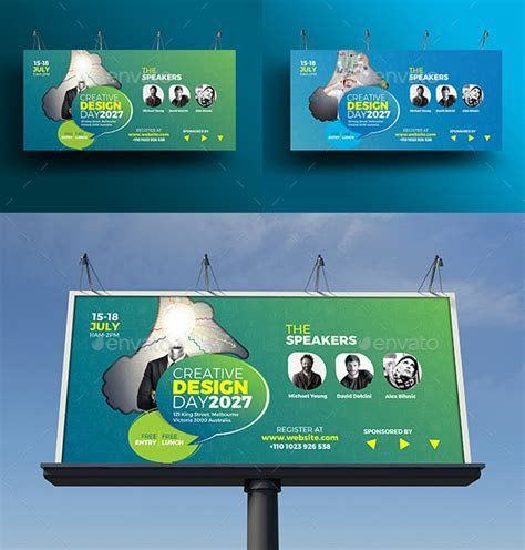 70  High Quality Outdoor Billboard Templates 2018 (PSD)