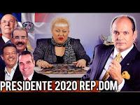 RAMFIS DOMINGUEZ TRUJILLO NUEVO PRESIDENTE 2020 REPUBLICA DOMINICANA