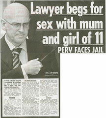 Ian Donnelly - Lawyer begs for sex with mum & girl of 11 - Daily Record