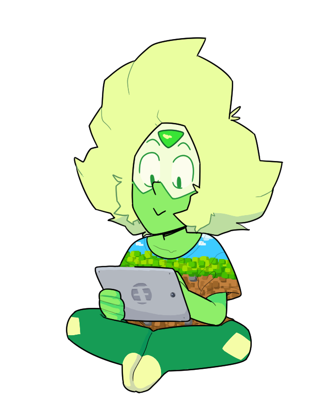 """discount-supervillain: """"it's where she can be around all of the lapis lazuli she wants """""""