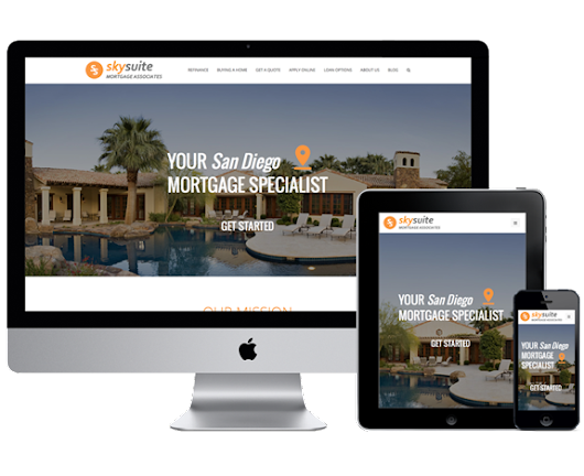 Design 9 - Vonk Digital Mortgage Websites
