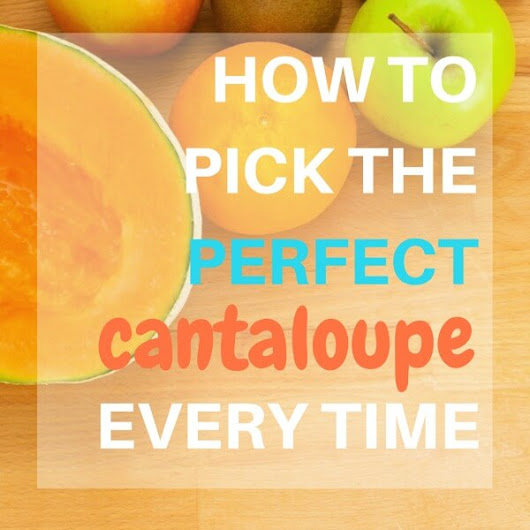 How to Pick a Cantaloupe - Serendipity and Spice