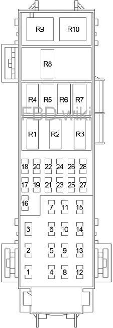 04 09 Dodge Durango Fuse Diagram