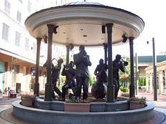 Statue near Harrah's