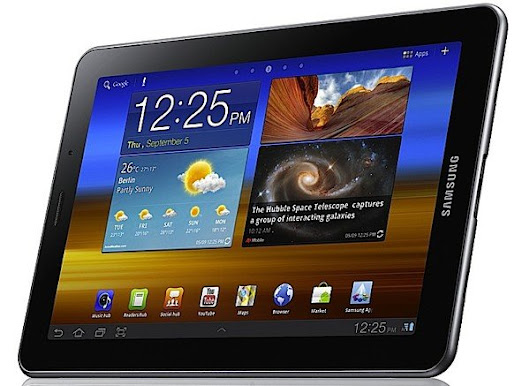 Verizon Galaxy Tab 7.7 update reduces electrical consumption during charging