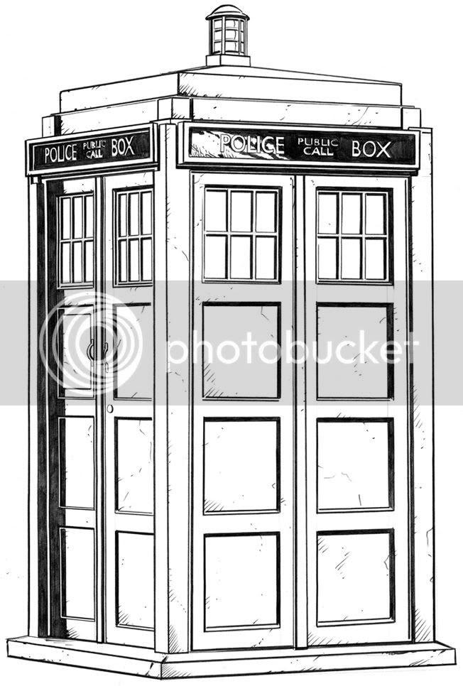 Graeme Neil Reid,Illustration,Doctor Who,Tardis
