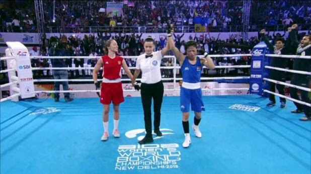Image result for Mary Kom First Woman Boxer To Win Six World Championship Gold Medals