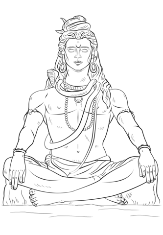 46 Shiva Coloring Pages Cartoon , Free HD Download