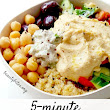 5-Minute Mediterranean Bowl – Healthy Lunch Meal Prep | Recipe | Mediterranean bowls, Meal prep recipes and Healthy salad recipes