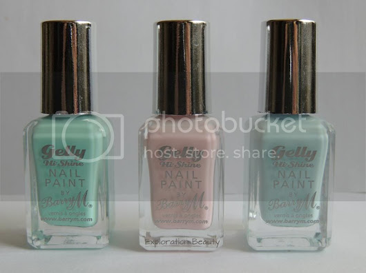 Barry M - Gelly Hi Shine, Spring Releases