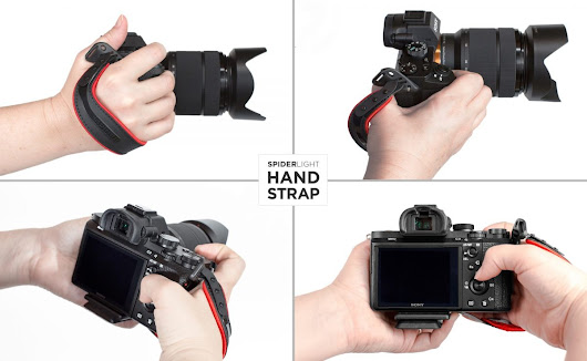 Got a Mirrorless Camera? Get Yourself a SpiderLight Hand Strap. • GearDiary