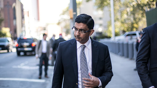 D'Souza Avoids Prison in Campaign Finance Case - NYTimes.com