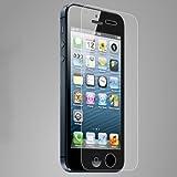 iPhone5S/iPhone5C/iPhone5用第三世代強化ガラスフィルム 極薄 ラウンド(角丸)タイプ 硬度9H 日本語説明書付き Glass Film【クロスフォレスト「CF-GDIP5」】
