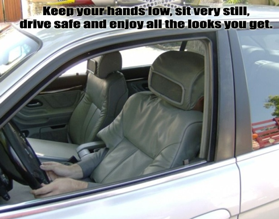 No Driver In The Car Funny Pictures Quotes Pics Photos Images