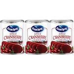 Ocean Spray Jellied Cranberry Sauce 3 Can Pack