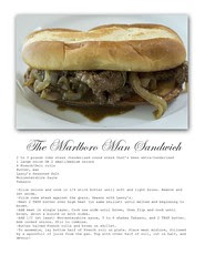 Marlboro Man Sandwich