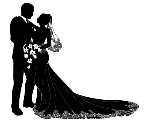 wedding couple clipart png   Clipground