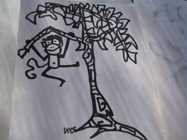 Hoe maak je een boom te tekenen: leren tekenen. Wat voor soort boom?