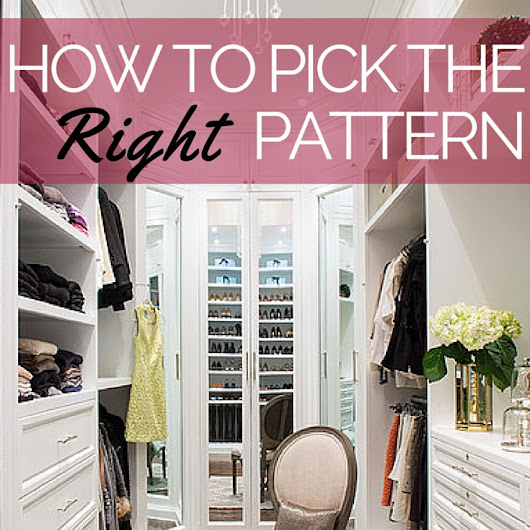 How to Choose the Right Sewing Pattern - The Sewing Loft