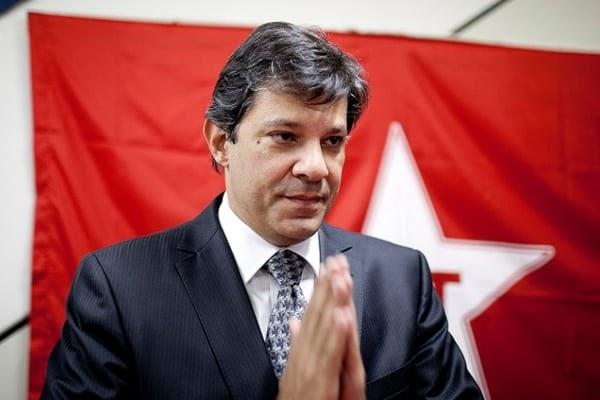 Haddad multado por impulsionar conteúdo negativo sobre Bolsonaro