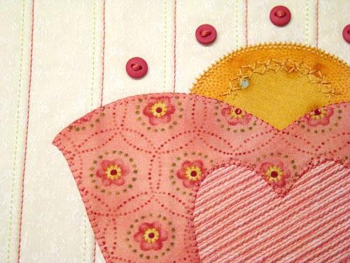 Stitchers Garden Block Detail