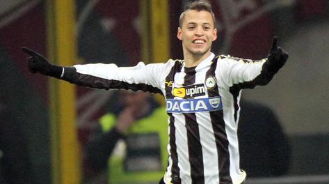 Nico Lopez, autore del gol partita. Ap