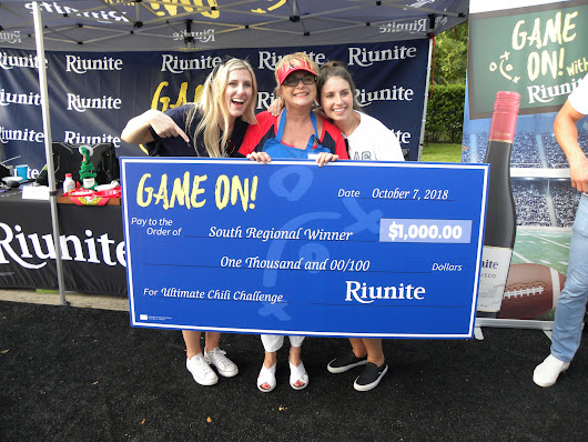 Riunite Bold and Beefy Texas No Bean Chili WINS South Regional Finals — At Home with Rebecka