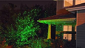 Static Bliss Firefly Fairy Outdoor Holiday Laser Lights Show Color Green movement   Amazon.com