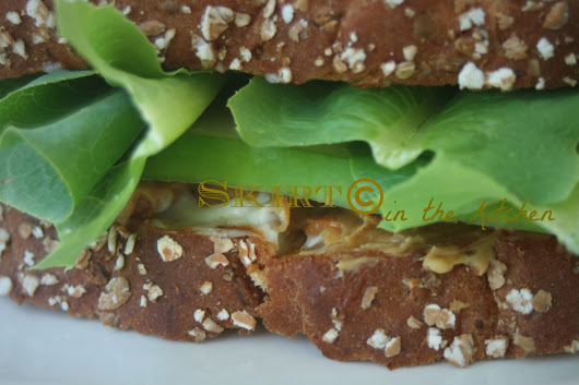 Peanut Butter Cucumber Sandwich - Skirt in the Kitchen