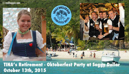 Day Trip to Jost van Dyke - Soggy Dollar Bar Oktoberfest Party - Rockhoppin' Adventures